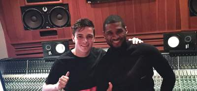 Usher and Martin Garrix